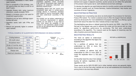 software module and trading strategy for cross border electricity transmission rights Printable
